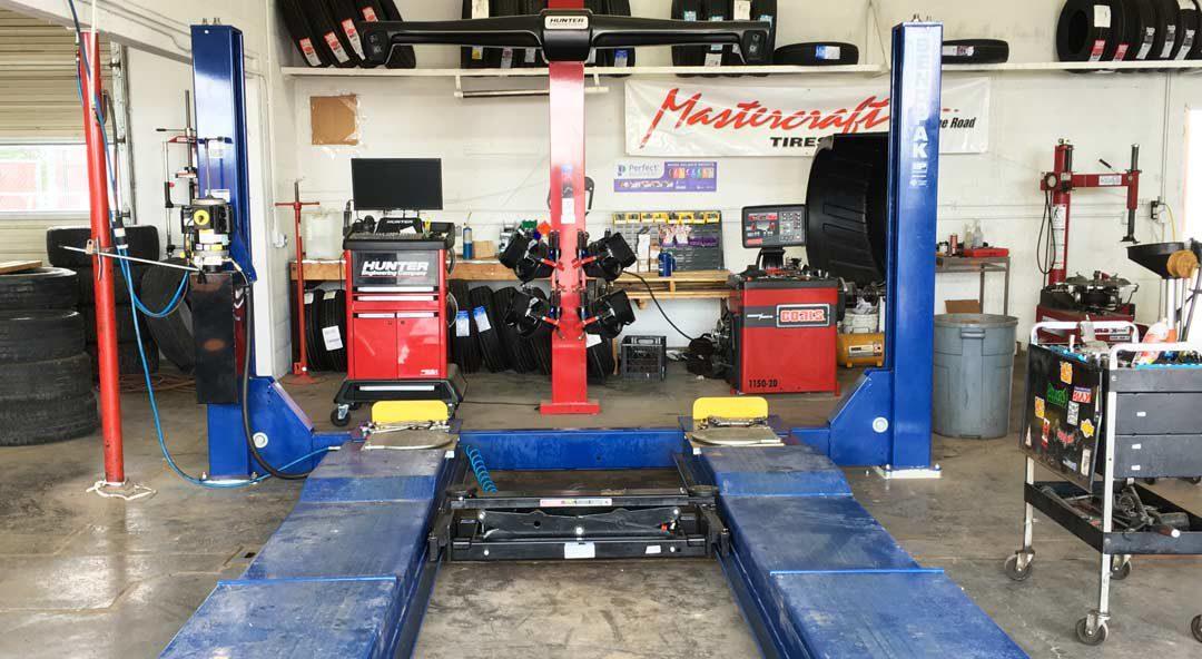 Kanab Tire Shop Laser alignments Brake install & repair Suspension Lift kits oil change near Zion National Park Kanab Auto Shop Kanab